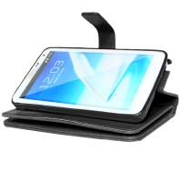 Wallet Case PU Leather With 9 Card Slot 2 In 1 Magnet Samsung Note 3