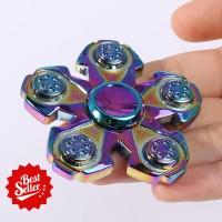 New Fidget Spinner Rainbow Branch Five Premium Quality