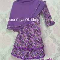 Jual Gamis Katun Jepang Balita/ Baju Muslim Anak Perempuan Murah
