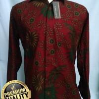 Jual Baju Batik Pria Lengan Panjang Premium RSN-01 Murah