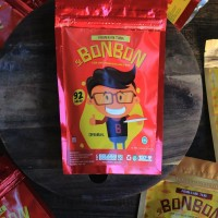 Jual Snack  Si Bonbon Abon Non MSG Ikan Tuna / Lele / Cakalang / Ebi / Ayam Murah