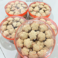 Jual Kue Kering/Snacks/Camilan Rentak/Bangkit Wijen Renyah Palembang Murah