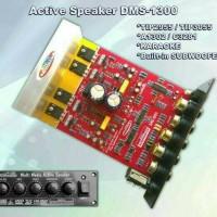 KIT POWER AMPLI SPEAKER AKTIF KARAOKE PLUS SUBWOOFER DMS-1300