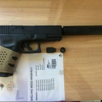 harga Silencer Peredam Rcf / Wg Glock 19 / Gh M84 Meningkatkan Power Tokopedia.com
