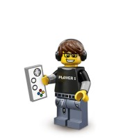 Lego Minifigure Series 12 - Video Game Guy