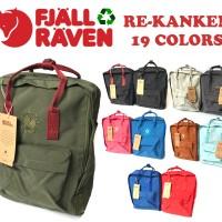 Tas Fjallraven Re-Kanken 16L Medium Backpack / Tas Sekolah