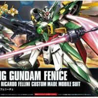 Bandai HGBF 006 Wing Gundam Fenice Build Fighter Ricardo Fellini Custo