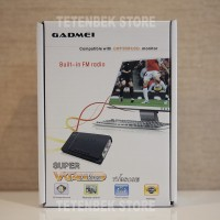 Tv Tuner Gadmei Combo for Crt / Lcd Tv 3810e