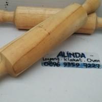 Rollpin rolling pin nastar gulung gilingan adonan kue kering kayu