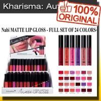 NABI LIQUID MATTE LIPSTICK LIP GLOSS - ORI USA - GROSIR (K-NB-LG)
