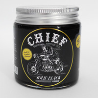 Pomade Chief Black Waterbased + Free sisir + Stiker