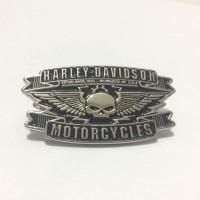 harga Pin Jaket Harley Davidson Willie G Skull Wings Metal Tokopedia.com