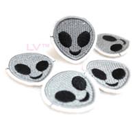 Jual Tumblr / Iron Patch / Sticker Baju / Emblem / Badge / Bordir Alien Murah