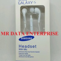 Headset Earphone Handsfree Vol Samsung S4 S5 Grand Note Original 100%