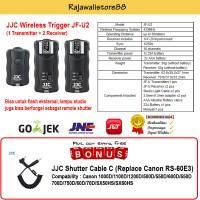 JJC Flash Trigger dan Remote Shutter JF-U2+ Cable C (Canon 600D/700D)