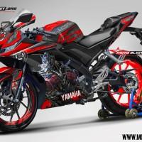 Decal stiker Yamaha R15 V3 Optimus (FULLBODY+VELG)