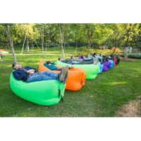 Jual Inflatable Air Sofa Bed Lazy Sleeping Camping Bag Beach Hangout Couch  Murah