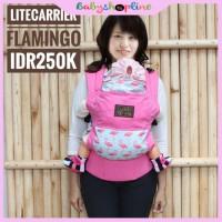 Jual Gendongan Bayi Ergo Cuddle Me Lite Carrier Flamingo Murah