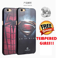 SILIKON SUPERHERO Oppo F1s A59 soft case back cover casing bumper hp