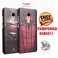 SILIKON SUPERHERO Xiaomi redmi note 3 4 pro soft case cover casing hp