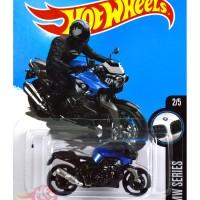 BMW K 1300 R BIRU / BLUE - Hot Wheels HW Hotwheels