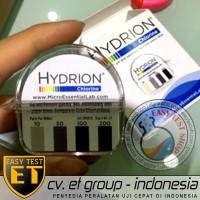 Hydrion Chlorine Test Kit | Tes Klorin Air | Testkit / Teskit Paper