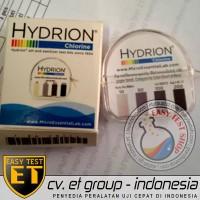 Hydrion Chlorine Test Kit | Tes Klorin Air | Testkit / Teskit Paper OK