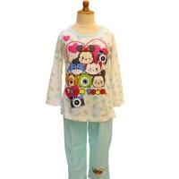 Baju Tidur Anak / Piyama Pja 010617 Disney Tsum Wt