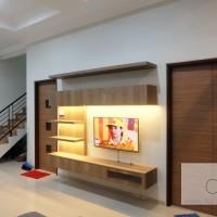 custom credenza tv modern minimalis jakarta