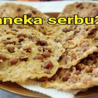 Jual 10 pcs RP:30.000 rempeyek kacang vegetarian (halal) Murah