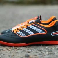 sepatu futsal adidas predator black orange