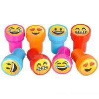 1 Set 10 pcs Stampel Gambar Emoji Cap Emoji