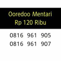 harga Nomor Super Cantik Mentari Ooredoo 10 Digit Seri Double Abc Lengkap Q6 Tokopedia.com