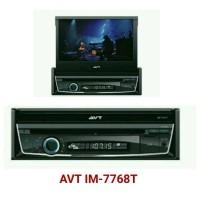 Head unit Single Din Indash DVD merk AVT IM-7768T