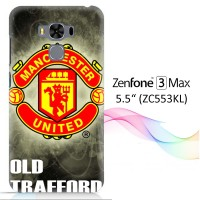 "manchester united logo X3475 Zenfone 3 Max 5,5"" Full Print 3D Case"