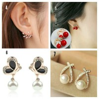 Jual Anting Emas Mutiara Import ( Baju Makeup Dompet Tas Jam Gift Dress ) Murah