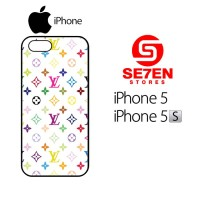 Casing HP iPhone 5 5s Louis vuitton multicolor Custom Hardcase Cover