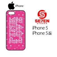 Casing HP iPhone 5 5s victorias secret pink Custom Hardcase Cover