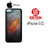 Casing HP iPhone 5C The flash logo Custom Hardcase Cover