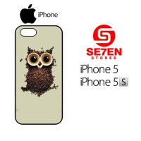 harga Casing Hp Iphone 5, 5s Coffee Owl Custom Hardcase Cover Tokopedia.com