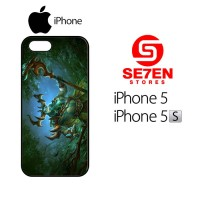 Casing HP iPhone 5 5s Wildthorn wallpaper dota 2 Custom Hardcase Cover