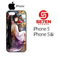 Casing HP iPhone 5 5s Geisha anime Custom Hardcase Cover