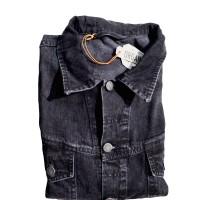 Nudie Jeans Conny Organic Black Ston Denim Jacket L & XL 100% Ori