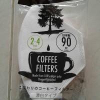 DAISO Kopi filter, kertas kopi, kertas saringan kopi 90 lembar