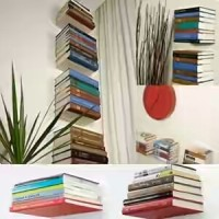 Book Floating Shelf | Magic Shelf | Rak Buku Melayang MURAH