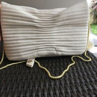 HORIZONTAL QUILTED ROTELLI CLUTCH
