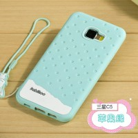 Samsung Galaxy C5 Fabitoo Soft Case Armor Silicone rubber cover cute