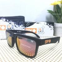 Spy Helm Kenblock Black Orange / sunglasses ken block hitam