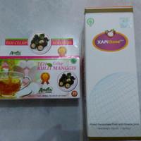 Jual F HARGA TERMURAH Paket Teh Kulit Manggis plus jus X A M T H O N E Murah