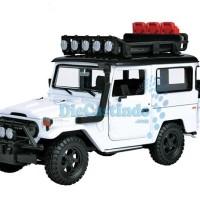 harga Motormax - Toyota Fj40 Land Cruiser Off Road, Putih - Skala 1:24 Tokopedia.com